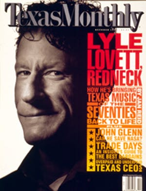 Cover of Texas Monthly October 1998