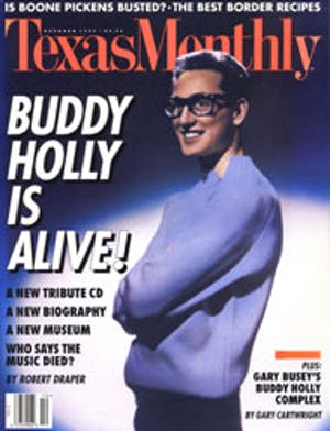 Cover of Texas Monthly October 1995