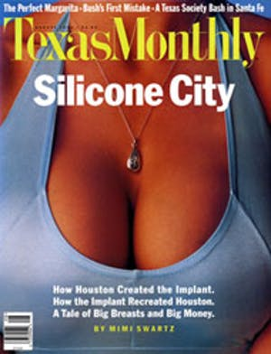 Cover of Texas Monthly August 1995