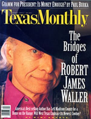 Cover of Texas Monthly April 1995