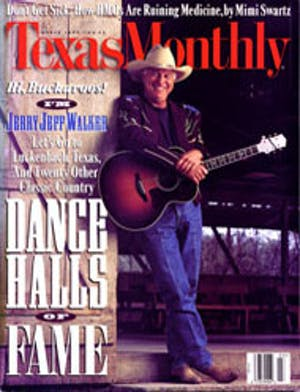 Cover of Texas Monthly March 1995