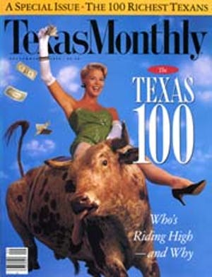 Cover of Texas Monthly September 1990