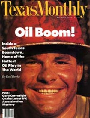 Cover of Texas Monthly December 1990