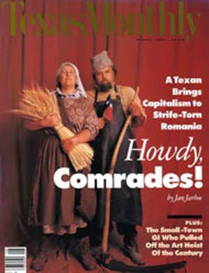 Cover of Texas Monthly August 1990