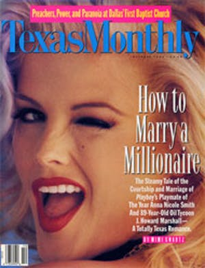 Cover of Texas Monthly October 1994