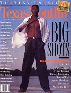 Cover of Texas Monthly September 1994