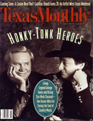 Cover of Texas Monthly July 1994