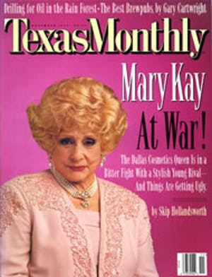 Cover of Texas Monthly November 1995