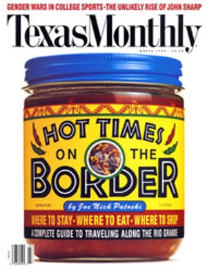 Cover of Texas Monthly March 1994