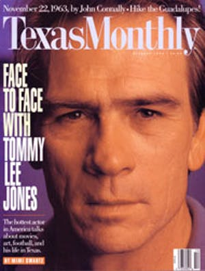 Cover of Texas Monthly October 1993