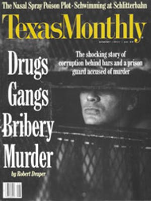 Cover of Texas Monthly August 1991