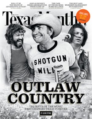 Cover of Texas Monthly April 2012