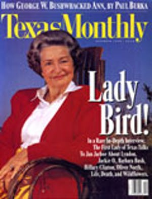 Cover of Texas Monthly December 1994