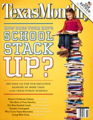 Cover of Texas Monthly November 2001