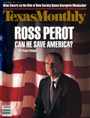 Cover of Texas Monthly December 1988