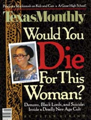 Cover of Texas Monthly May 1990