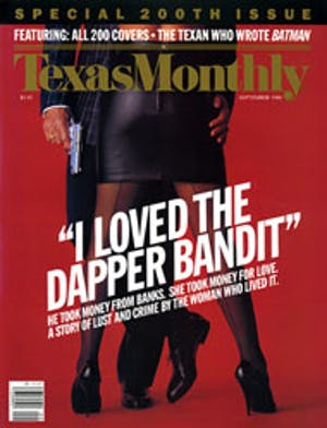 Cover of Texas Monthly September 1989
