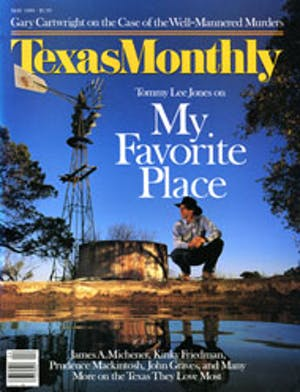 Cover of Texas Monthly May 1989