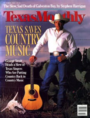 Cover of Texas Monthly October 1988