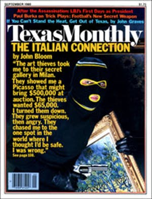 Cover of Texas Monthly September 1980
