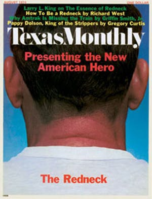 Cover of Texas Monthly August 1974