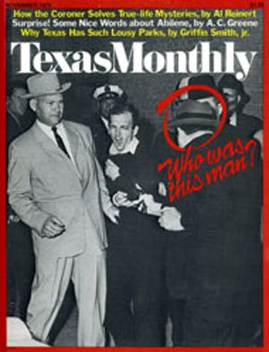 Cover of Texas Monthly November 1975