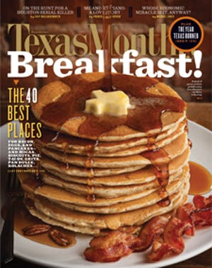 Cover of Texas Monthly December 2011