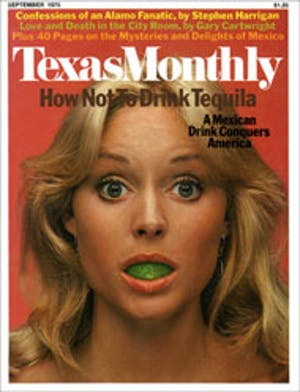 Cover of Texas Monthly September 1975