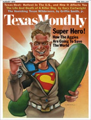 Cover of Texas Monthly August 1975