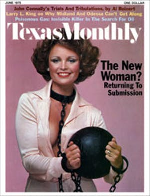 Cover of Texas Monthly June 1975