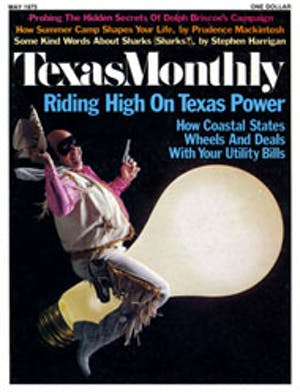 Cover of Texas Monthly May 1975