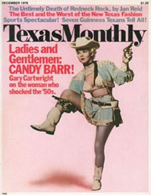 Cover of Texas Monthly December 1976