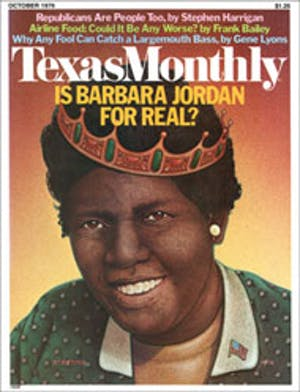 Cover of Texas Monthly October 1976