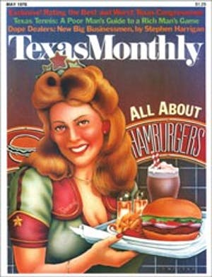 Cover of Texas Monthly May 1976