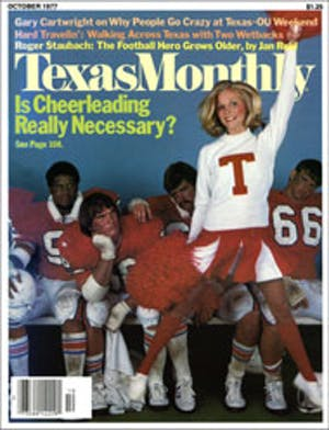 Cover of Texas Monthly October 1977
