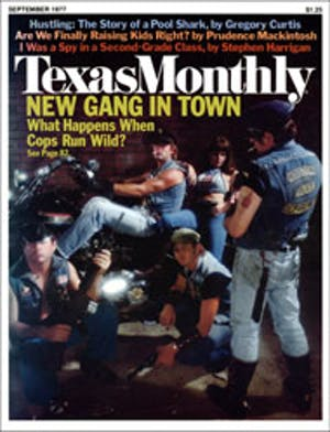 Cover of Texas Monthly September 1977