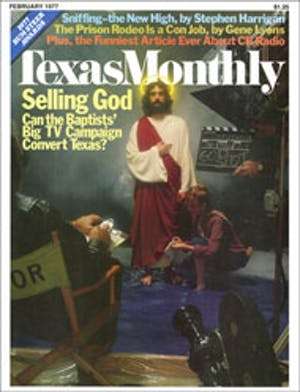 Cover of Texas Monthly February 1977