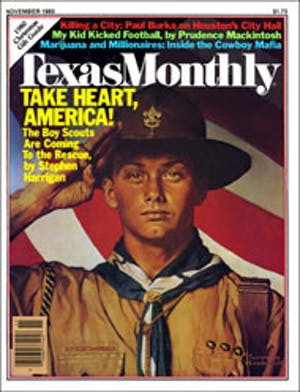 Cover of Texas Monthly November 1980