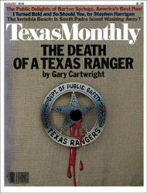 Cover of Texas Monthly August 1978