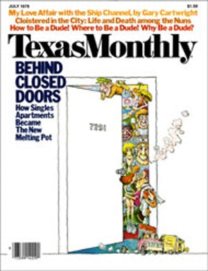 Cover of Texas Monthly July 1978