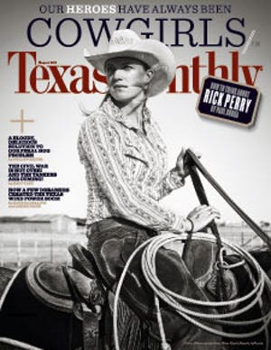 Cover of Texas Monthly August 2011