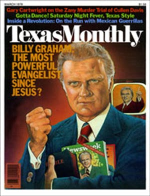 Cover of Texas Monthly March 1978