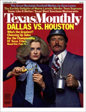Cover of Texas Monthly February 1978