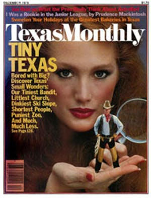 Cover of Texas Monthly December 1979