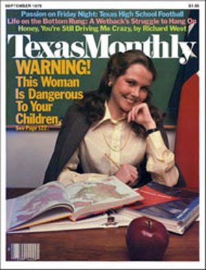Cover of Texas Monthly September 1979