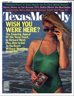 Cover of Texas Monthly August 1979