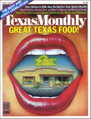 Cover of Texas Monthly July 1979