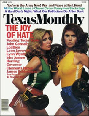 Cover of Texas Monthly June 1979