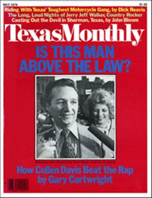 Cover of Texas Monthly May 1979