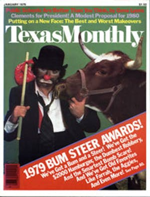 Cover of Texas Monthly January 1979